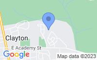 Map of Clayton NJ