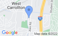 Map of West Carrollton OH