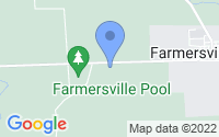Map of Farmersville OH