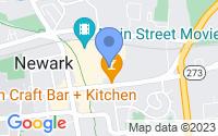 Map of Newark DE