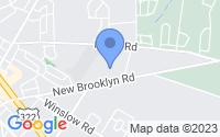 Map of Monroe Township NJ