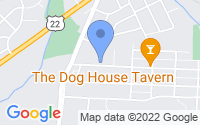 Map of Lancaster OH