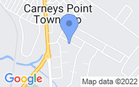 Map of Carneys Point Township NJ