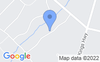 Map of Woolwich Township NJ