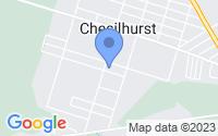 Map of Chesilhurst NJ