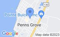 Map of Penns Grove NJ