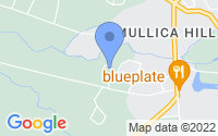 Map of Mullica Hill NJ