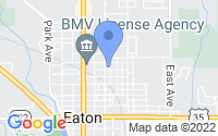 Map of Eaton OH