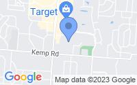 Map of Beavercreek OH