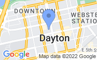 Map of Dayton OH