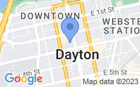 Map of Dayton OH