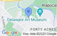 Map of Wilmington DE
