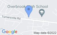 Map of Pine Hill NJ