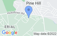 Map of Sicklerville NJ
