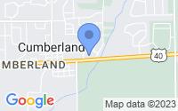 Map of Cumberland IN