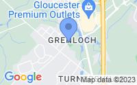 Map of Washington Township NJ