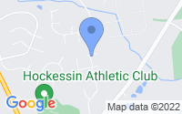 Map of Hockessin DE