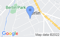 Map of Berlin NJ