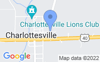 Map of Charlottesville IN