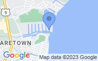 Map of Ocean Township NJ