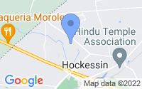 Map of Hockessin DE