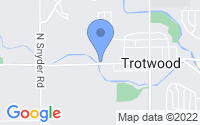 Map of Trotwood OH