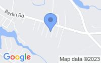 Map of Clementon NJ