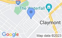 Map of Claymont DE