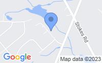 Map of Shamong NJ