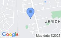 Map of Woodbury Heights NJ