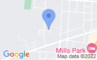 Map of Yellow Springs OH