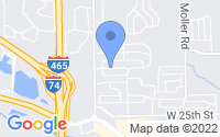 Map of Speedway IN