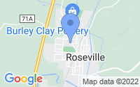 Map of Roseville OH