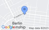 Map of West Berlin NJ