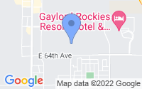 Map of Aurora CO