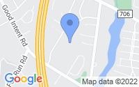 Map of Deptford Township NJ