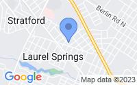 Map of Laurel Springs NJ