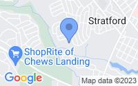Map of Stratford NJ