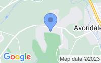 Map of Avondale PA