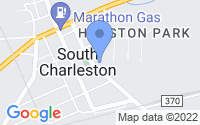 Map of South Charleston OH