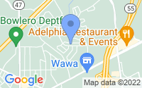 Map of Deptford Township NJ