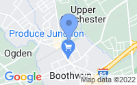 Map of Boothwyn PA