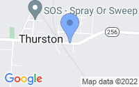 Map of Thurston OH