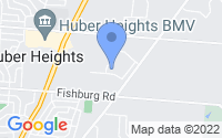 Map of Huber Heights OH