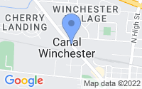Map of Canal Winchester OH