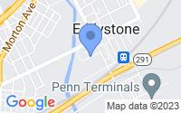 Map of Eddystone PA