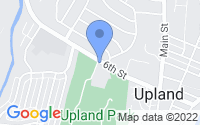 Map of Upland PA