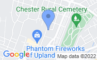 Map of Chester PA
