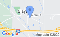 Map of Clayton OH
