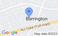 Map of Barrington NJ